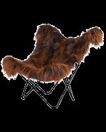 Cuero Lepakkotuoli Iceland Mariposa, Wild Copper