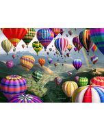 Kanvastaulu 100 x 140 x 4 cm Balloonland 1