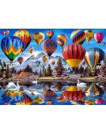 Kanvastaulu 100 x 140 x 4 cm Balloonland 2