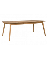 HansK Rainbow-ruokapöytä 162(48+48) x 100 cm tammi