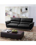 Nordic 3181 sohva 3-istuttava, musta