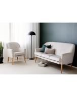 Soft Pearl 3-istuttava sohva, eri värejä