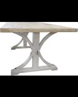 Provence Vintage ruokapöytä, valkoinen 140cm
