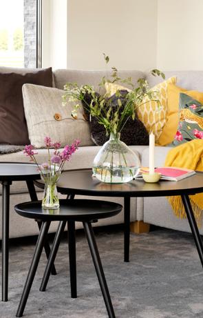 Sohvat ja nojatuolit olohuoneeseen
