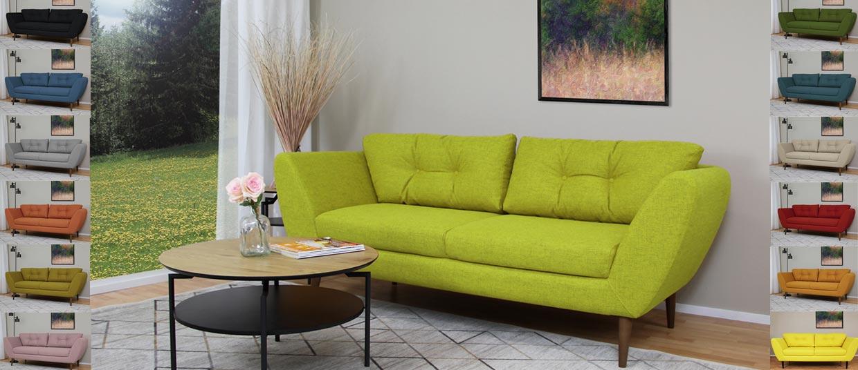 Värikkäät Sointu sohvat nyt edullisesti